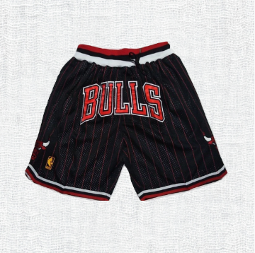 Just ★ Don‏ Shorts Chicago Bulls red stripe