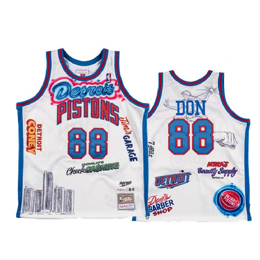 Detroit Pistons BR Remix Big Sean #88 Don Jersey גופיית כדורסל - Sport&More
