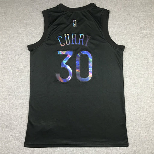 #30 Curry Golden State Warriors Rainbow Edition jersey black - Sport&More