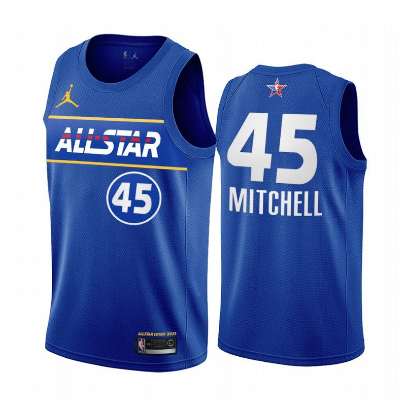 #45 Mitchell 2021 All star game jersey blue - Sport&More