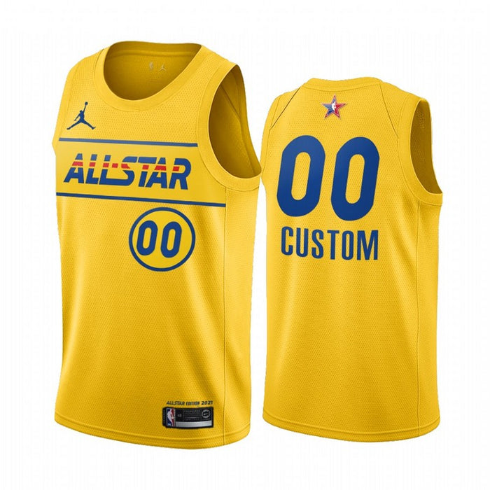 custom 2021 All star game jersey yellow - Sport&More