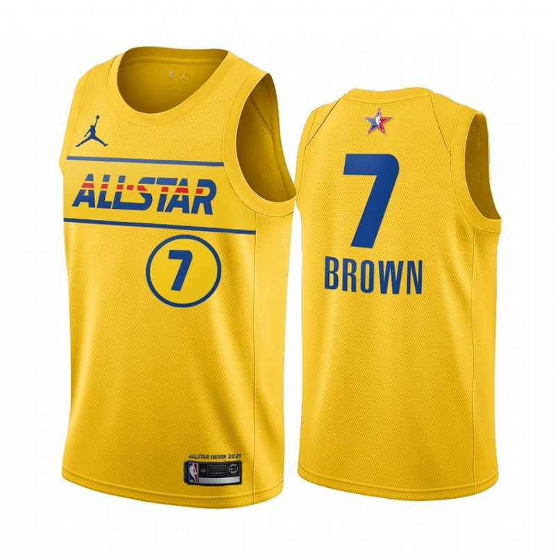 #7 Brown 2021 All star game jersey yellow - Sport&More