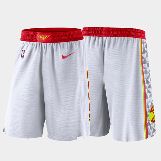 ATLANTA Hawks Association Shorts - White - Sport&More