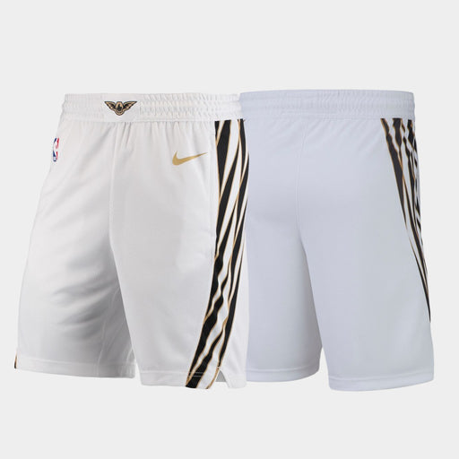 ATLANTA Hawks City Shorts - White