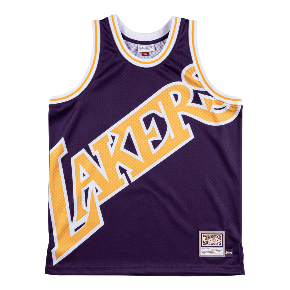 Lakers Big Face M&N jersey purple - Sport&More