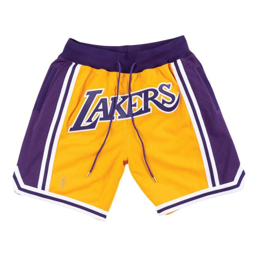 Los Angeles Lakers 1996-97 Just ★ done מכנס כדורסל‏ - Sport&More