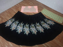 Load image into Gallery viewer, New Arrival Black Lehenga Choli Viscous Velvet With Dupatta