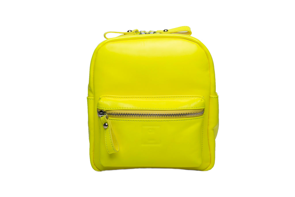 Yellow Mini Backpack