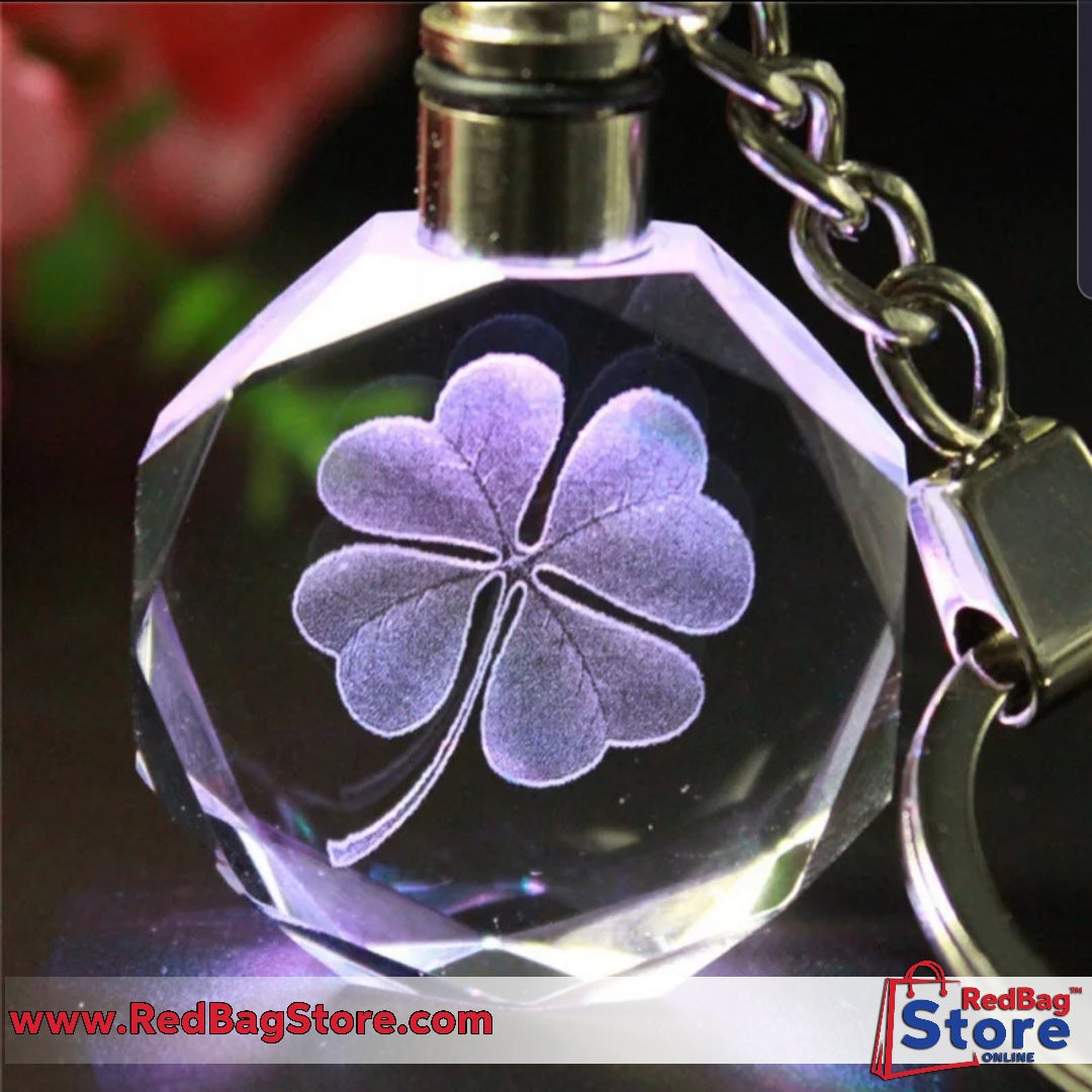 Artificial Crystal Key Chain