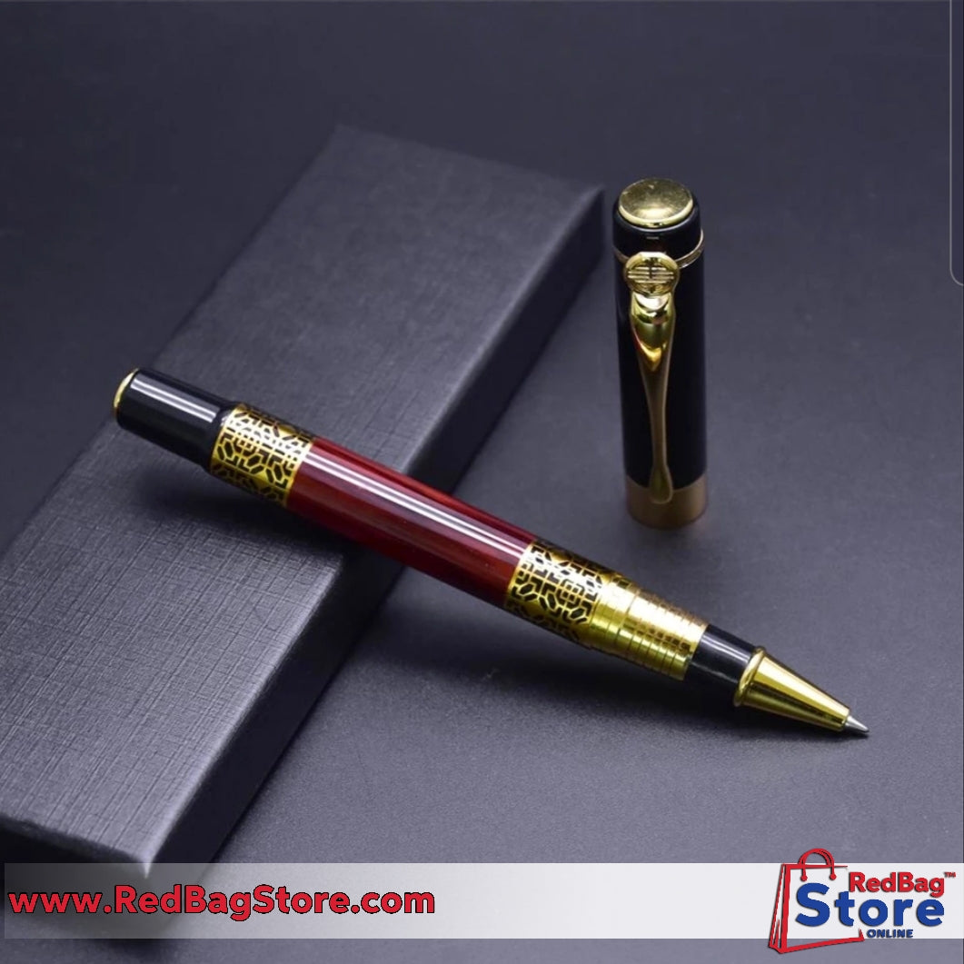 Metal Gel pen 0.5mm office school stationery Gift Luxury pen hotel business Writing ballpoint pen