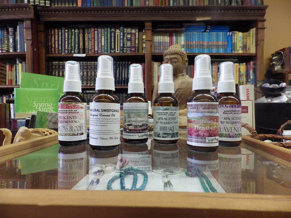 Essential Oil Mists for body & room spray
