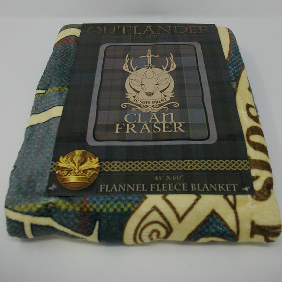 Outlander Clan Fraser Blanket