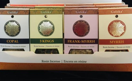 Goloka Premium Incense - Resins