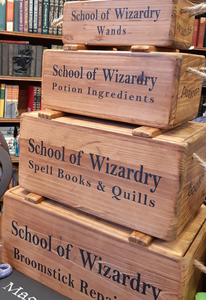 Wizard Storage Boxes - Set of 4
