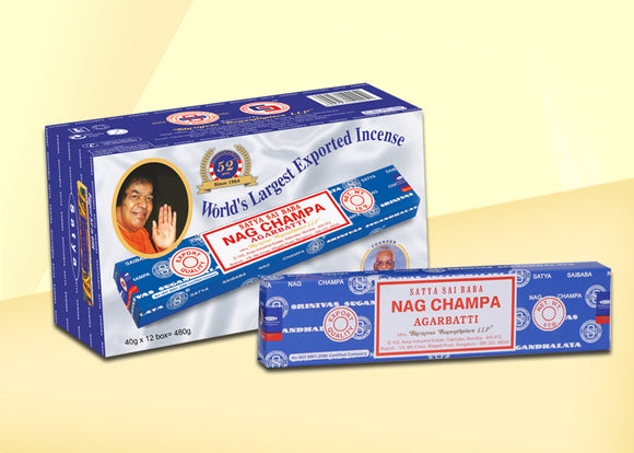 Nag Champa Incense Sticks - 40g