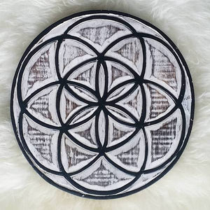 Crystal Grid - Seed of Life  & Flower of Life