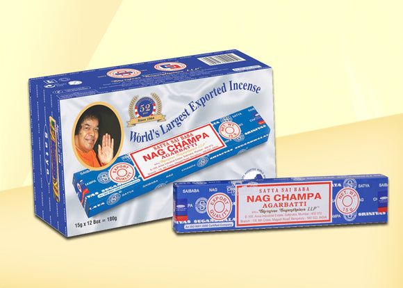 Nag Champa Incense Sticks - 15g