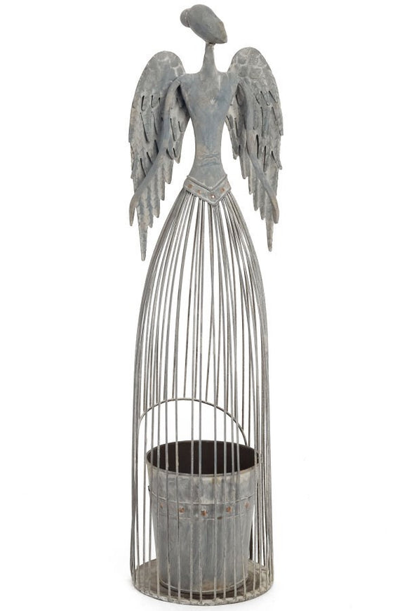 Angel Planter - Iron Cage.  26