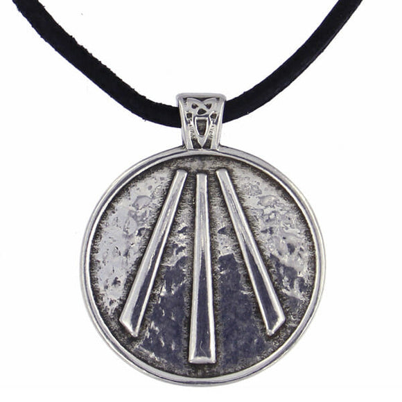Cornish Awen Pendant