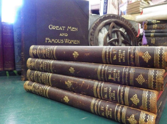 Great Men and Famous Women - 1894 - 8 Vols.