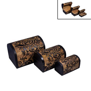 Tribal Carved Chests - Boxes