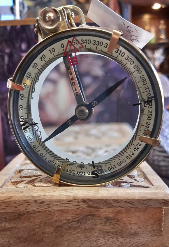 Nautical Brass Spencer & Co. Compass.