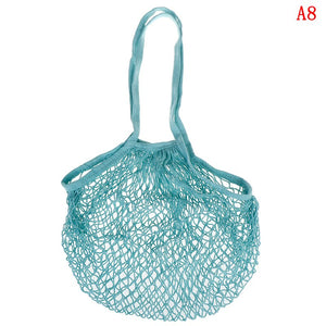 Cotton Net Shopping Bag - Crochet