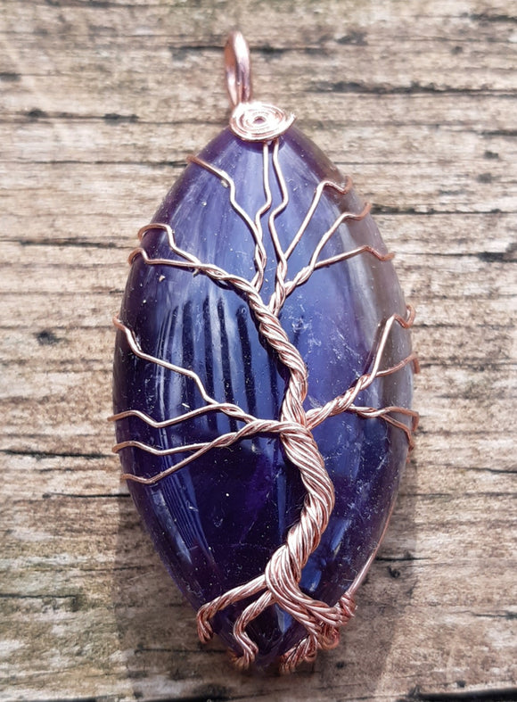 Amethyst Tree of Life