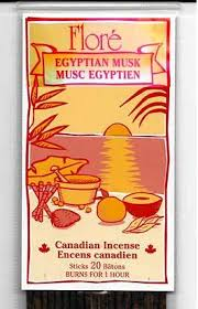 Flore Incense - Egyptian Musk