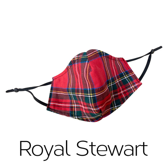 Tartan Face Mask - Cotton