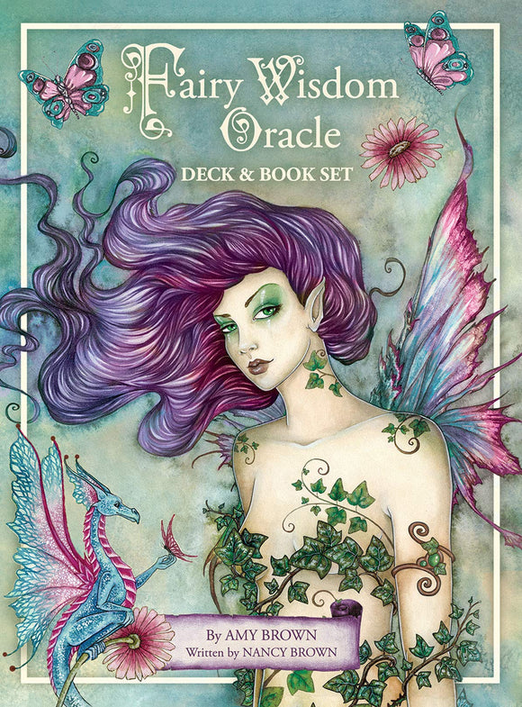 Fairy Wisdom Oracle -  Deck & Book Set