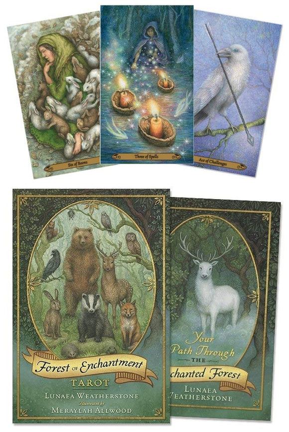 Forest of Enchantment - Tarot & Book Set