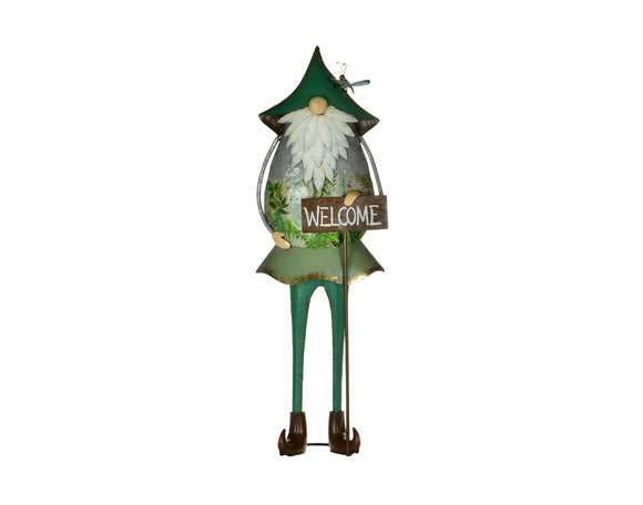 Welcome Garden Gnome - large