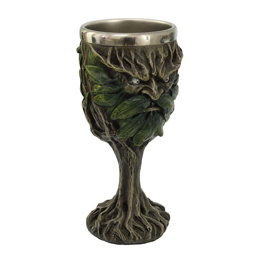 Goblet - Green Man