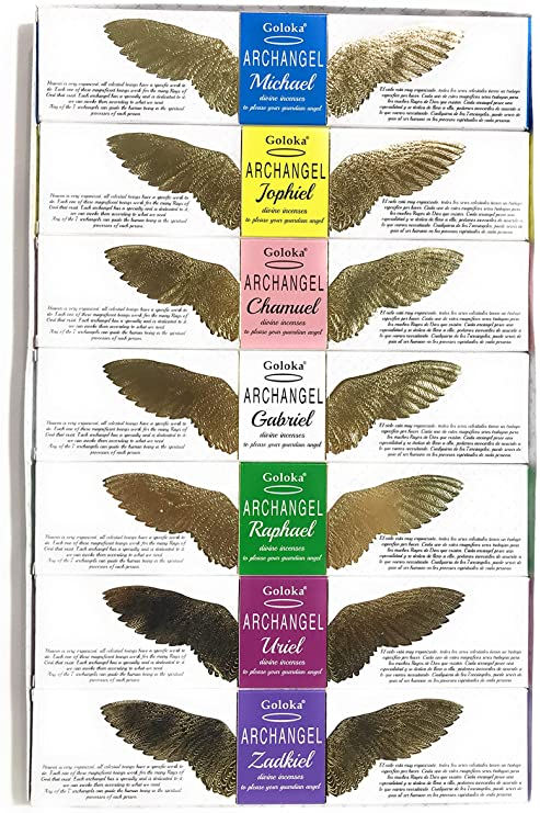 Seven Archangels Incense Pack - Goloka