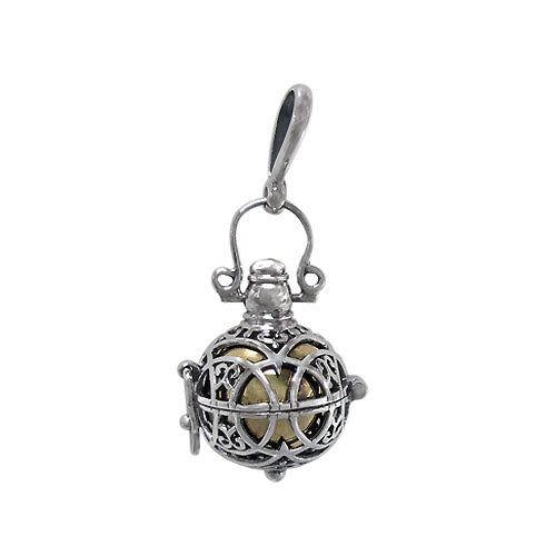 Harmony Chime Pendant - Sterling Silver