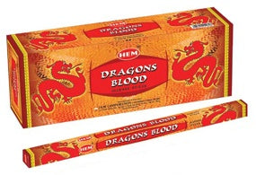 Dragons Blood Stick Incense - 8gr