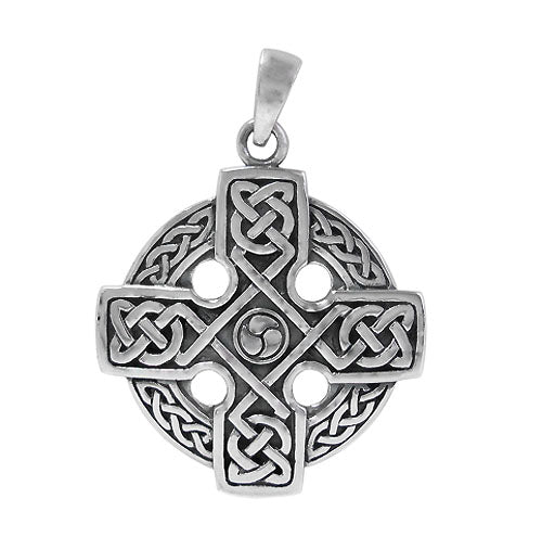 Irish Cross - Sterling Silver