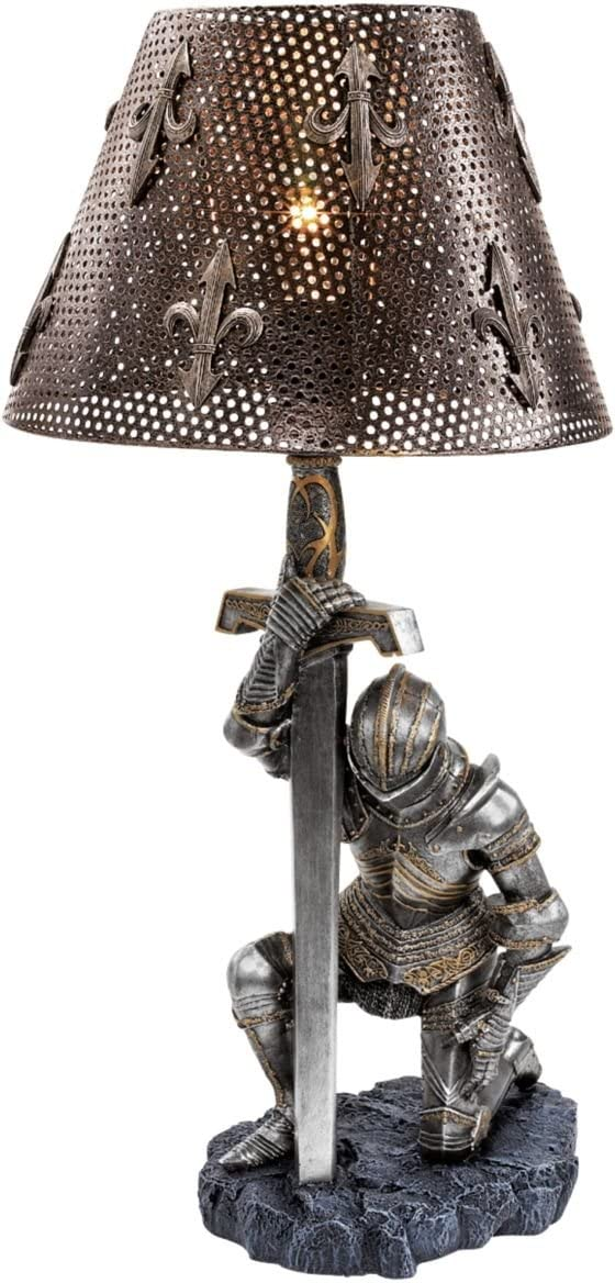 Knight Lamp - After the Battle
