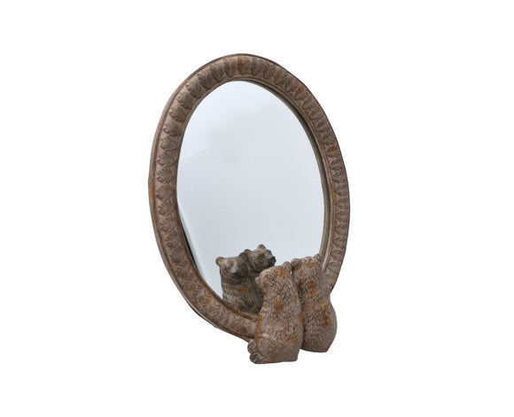 Bear Reflection Table Mirror
