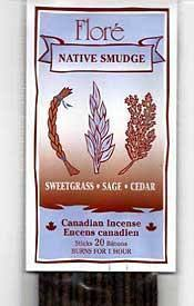 Flore Incense - Guidance - Sweetgrass, Sage & Cedar Blend