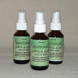 Sweetgrass Essence Oil Spray