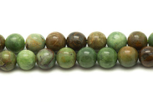 Green African Opal - 8mm - Stretch