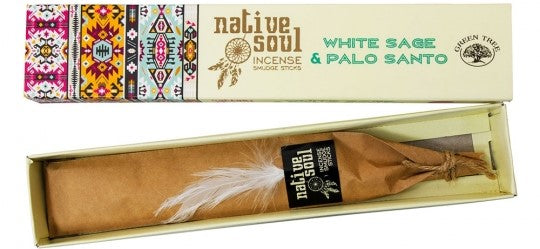Green Tree Incense - White Sage & Palo Santo