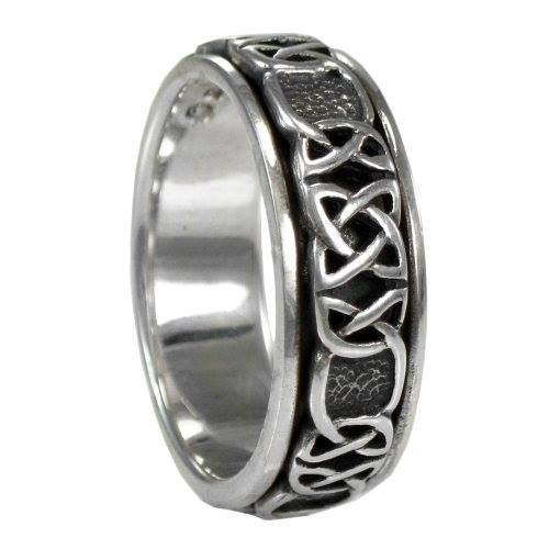Celtic Knot Spinner  - Ring Sterling Silver