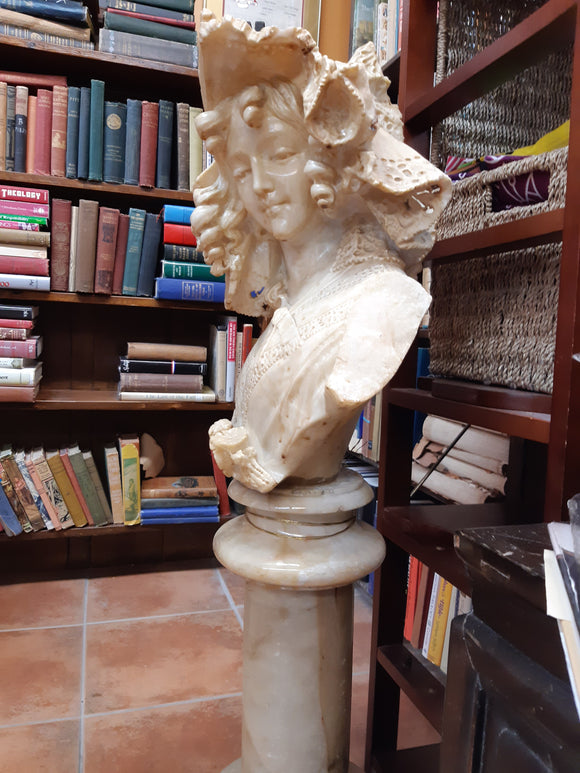 Solid Marble Carved Statue
