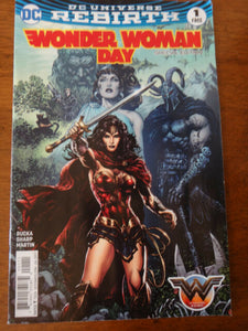 Wonder Woman Day - DC Comic ReBirth - Special Edition