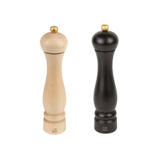 Charger l'image dans la galerie, Peugeot Canada Clermont Salt and Pepper mill Set - 24 cm - Natural and Chocolate