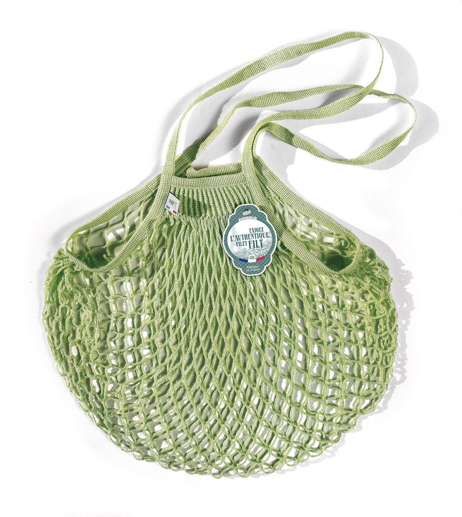 Filt Tote Net Bag Medium - Pergola Green -  Made in France - Clementine Boutique
