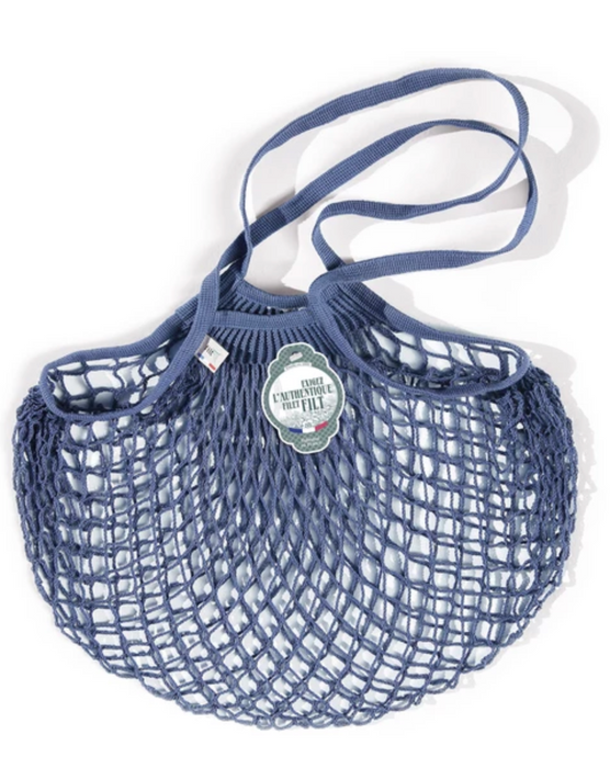 Filt Tote Net Bag - Denim